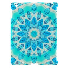 Blue Ice Goddess, Abstract Crystals Of Love Apple Ipad 3/4 Hardshell Case (compatible With Smart Cover) by DianeClancy