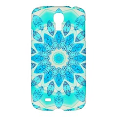 Blue Ice Goddess, Abstract Crystals Of Love Samsung Galaxy S4 I9500/i9505 Hardshell Case by DianeClancy