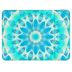Blue Ice Goddess, Abstract Crystals Of Love Samsung Galaxy Tab 7  P1000 Flip Case