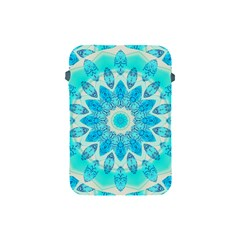 Blue Ice Goddess, Abstract Crystals Of Love Apple Ipad Mini Protective Sleeve by DianeClancy
