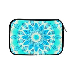 Blue Ice Goddess, Abstract Crystals Of Love Apple Ipad Mini Zippered Sleeve