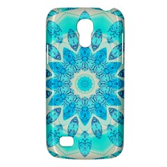 Blue Ice Goddess, Abstract Crystals Of Love Samsung Galaxy S4 Mini (gt I9190) Hardshell Case  by DianeClancy