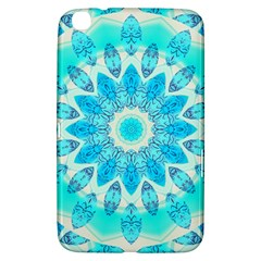 Blue Ice Goddess, Abstract Crystals Of Love Samsung Galaxy Tab 3 (8 ) T3100 Hardshell Case