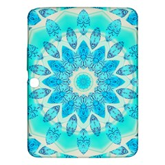 Blue Ice Goddess, Abstract Crystals Of Love Samsung Galaxy Tab 3 (10 1 ) P5200 Hardshell Case  by DianeClancy