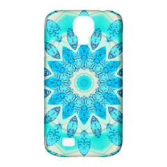 Blue Ice Goddess, Abstract Crystals Of Love Samsung Galaxy S4 Classic Hardshell Case (pc+silicone) by DianeClancy