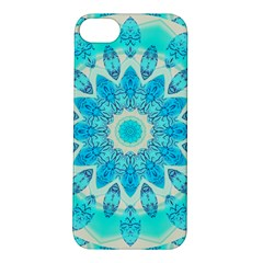 Blue Ice Goddess, Abstract Crystals Of Love Apple Iphone 5s Hardshell Case by DianeClancy