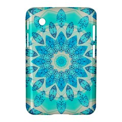 Blue Ice Goddess, Abstract Crystals Of Love Samsung Galaxy Tab 2 (7 ) P3100 Hardshell Case  by DianeClancy