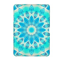 Blue Ice Goddess, Abstract Crystals Of Love Samsung Galaxy Tab 2 (10 1 ) P5100 Hardshell Case  by DianeClancy