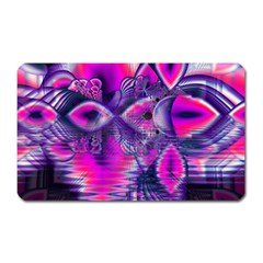 Rose Crystal Palace, Abstract Love Dream  Magnet (rectangular) by DianeClancy