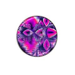 Rose Crystal Palace, Abstract Love Dream  Golf Ball Marker 4 Pack (for Hat Clip) by DianeClancy