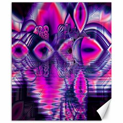 Rose Crystal Palace, Abstract Love Dream  Canvas 8  X 10  (unframed) by DianeClancy