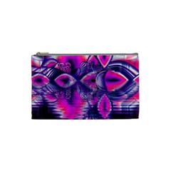 Rose Crystal Palace, Abstract Love Dream  Cosmetic Bag (small) by DianeClancy