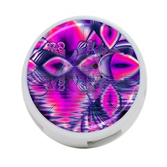 Rose Crystal Palace, Abstract Love Dream  4 Port Usb Hub (two Sides) by DianeClancy
