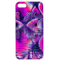 Rose Crystal Palace, Abstract Love Dream  Apple Iphone 5 Hardshell Case With Stand by DianeClancy
