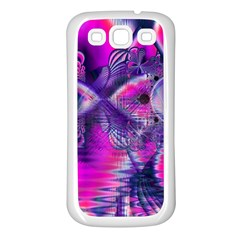 Rose Crystal Palace, Abstract Love Dream  Samsung Galaxy S3 Back Case (white) by DianeClancy