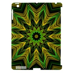 Woven Jungle Leaves Mandala Apple Ipad 3/4 Hardshell Case (compatible With Smart Cover) by Zandiepants