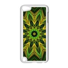 Woven Jungle Leaves Mandala Apple Ipod Touch 5 Case (white) by Zandiepants