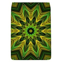 Woven Jungle Leaves Mandala Removable Flap Cover (large) by Zandiepants