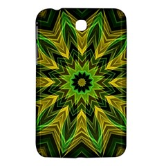 Woven Jungle Leaves Mandala Samsung Galaxy Tab 3 (7 ) P3200 Hardshell Case  by Zandiepants