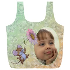 Mousey Recycle Bag (xl) By Deborah   Full Print Recycle Bag (xl)   0fw74n82errp   Www Artscow Com Front