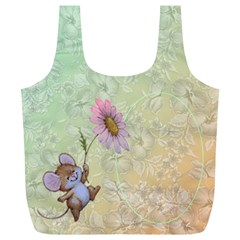 Mousey Recycle Bag (xl) By Deborah   Full Print Recycle Bag (xl)   0fw74n82errp   Www Artscow Com Back