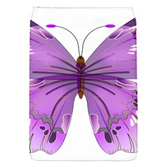 Purple Awareness Butterfly Removable Flap Cover (small) by FunWithFibro