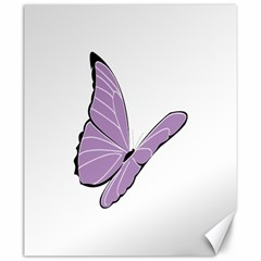 Purple Awareness Butterfly 2 Canvas 20  X 24  (unframed) by FunWithFibro