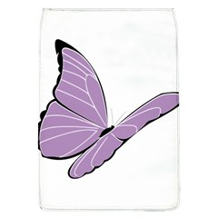 Purple Awareness Butterfly 2 Removable Flap Cover (large) by FunWithFibro