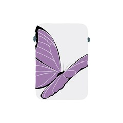 Purple Awareness Butterfly 2 Apple Ipad Mini Protective Sleeve by FunWithFibro