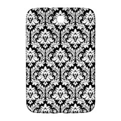White On Black Damask Samsung Galaxy Note 8 0 N5100 Hardshell Case  by Zandiepants