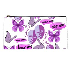 Invisible Illness Collage Pencil Case by FunWithFibro