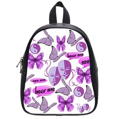 Invisible Illness Collage School Bag (small) by FunWithFibro
