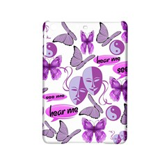 Invisible Illness Collage Apple Ipad Mini 2 Hardshell Case by FunWithFibro