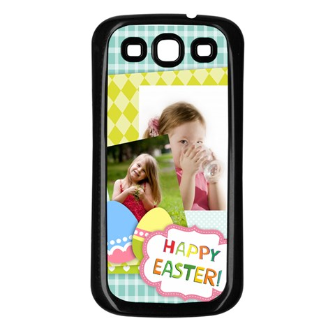 Easster By Easter   Samsung Galaxy S3 Back Case (black)   Lfgms4y1cppz   Www Artscow Com Front