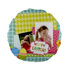 Easter By Easter   Standard 15  Premium Round Cushion    El3xfanpeiyt   Www Artscow Com Back