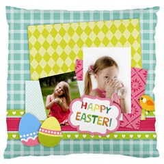 Easter By Easter   Large Cushion Case (two Sides)   Mg8ucpxhoag7   Www Artscow Com Back