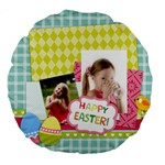 easter - Large 18  Premium Round Cushion