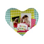 easter - Standard 16  Premium Heart Shape Cushion