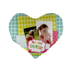 Easter By Easter   Standard 16  Premium Heart Shape Cushion    Sgt2fci66jy4   Www Artscow Com Back