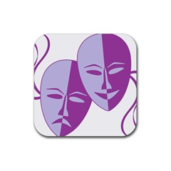 Comedy & Tragedy Of Chronic Pain Drink Coasters 4 Pack (square) by FunWithFibro