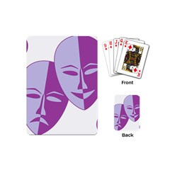 Comedy & Tragedy Of Chronic Pain Playing Cards (Mini)