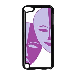 Comedy & Tragedy Of Chronic Pain Apple Ipod Touch 5 Case (black) by FunWithFibro
