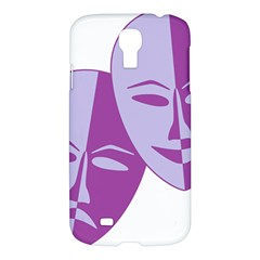 Comedy & Tragedy Of Chronic Pain Samsung Galaxy S4 I9500/i9505 Hardshell Case by FunWithFibro