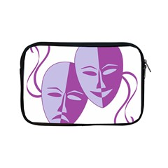 Comedy & Tragedy Of Chronic Pain Apple Ipad Mini Zippered Sleeve by FunWithFibro