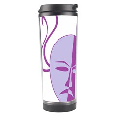 Comedy & Tragedy Of Chronic Pain Travel Tumbler by FunWithFibro