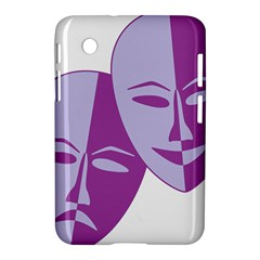 Comedy & Tragedy Of Chronic Pain Samsung Galaxy Tab 2 (7 ) P3100 Hardshell Case  by FunWithFibro