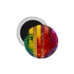 Conundrum I, Abstract Rainbow Woman Goddess  1 75  Button Magnet by DianeClancy