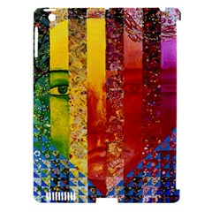 Conundrum I, Abstract Rainbow Woman Goddess  Apple Ipad 3/4 Hardshell Case (compatible With Smart Cover) by DianeClancy