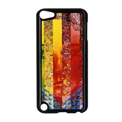 Conundrum I, Abstract Rainbow Woman Goddess  Apple Ipod Touch 5 Case (black) by DianeClancy