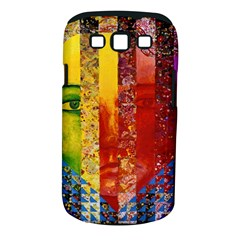 Conundrum I, Abstract Rainbow Woman Goddess  Samsung Galaxy S Iii Classic Hardshell Case (pc+silicone) by DianeClancy